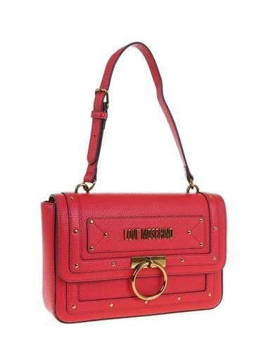 Love Moschino Omuz Çantası Kırmızı